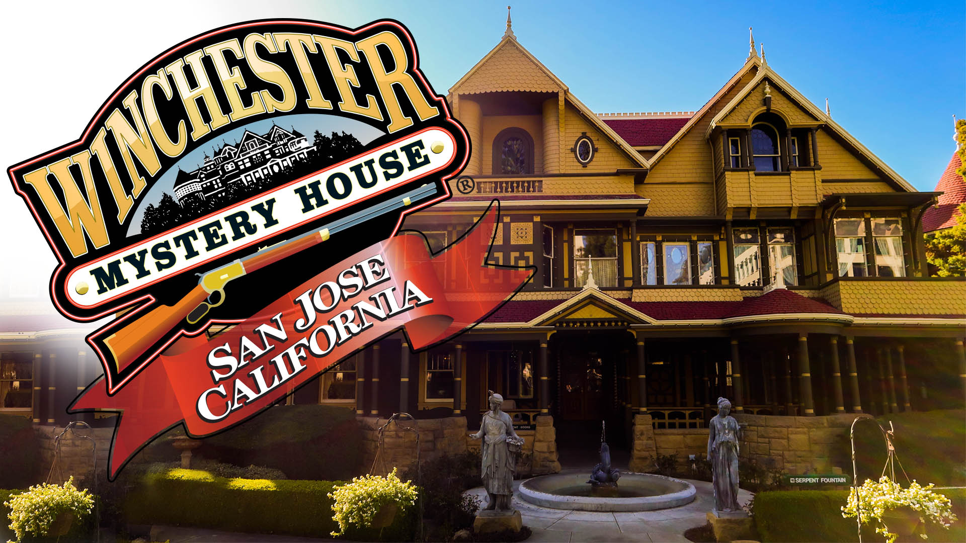 Haunted California Inside the Winchester Mystery House Life in